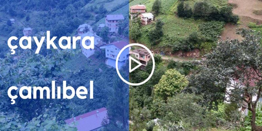 Çaykara Çamlıbel Köyü Video