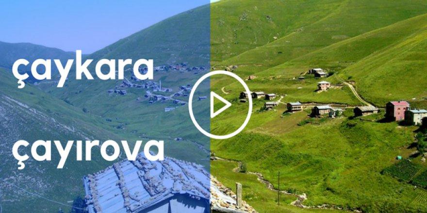 Çaykara Çayıroba Köyü Video