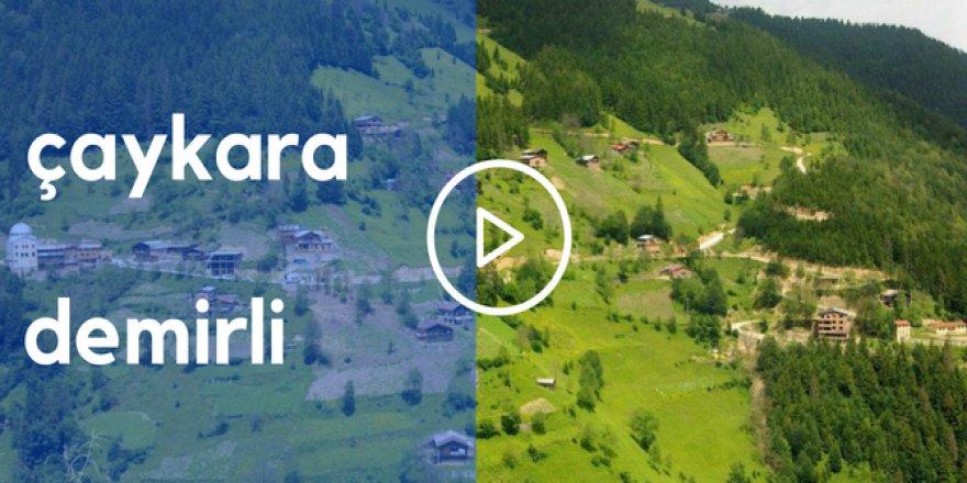 Çaykara Demirli Köyü Video