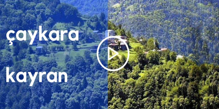 Çaykara Kayran Köyü Video