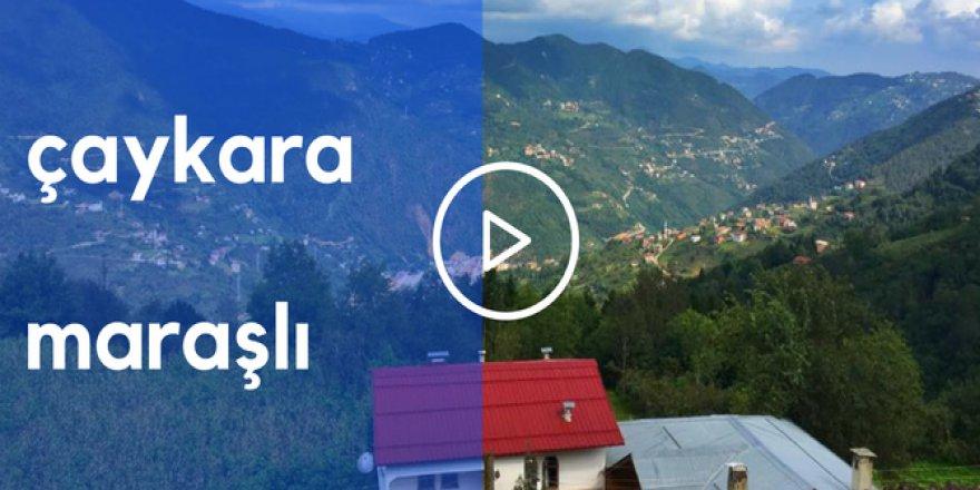 Çaykara Maraşlı Köyü Video