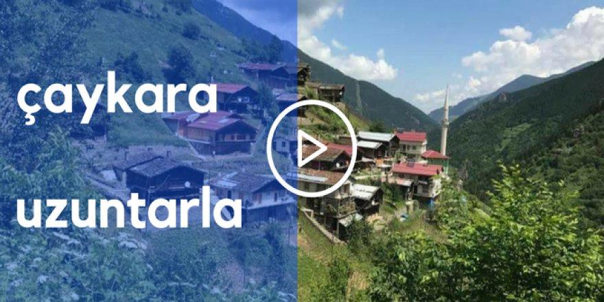 Çaykara Uzuntarla Köyü Video