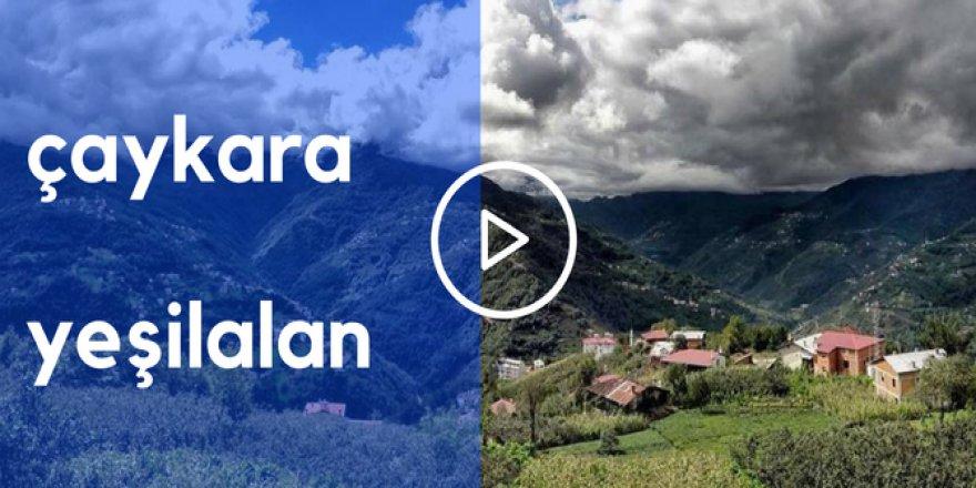 Çaykara Yeşilalan Köyü Video