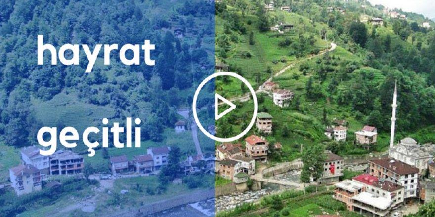 Hayrat Geçitli Köyü Video
