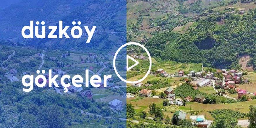 Düzköy Gökçeler Köyü Video