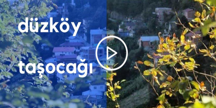 Düzköy Taşocağı Köyü Video