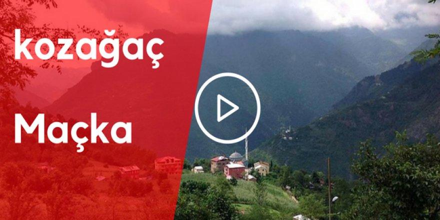 Maçka Kozağaç Köyü Video