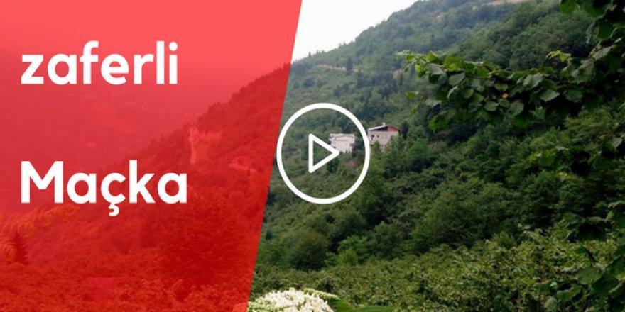 Maçka Zaferli Köyü Video