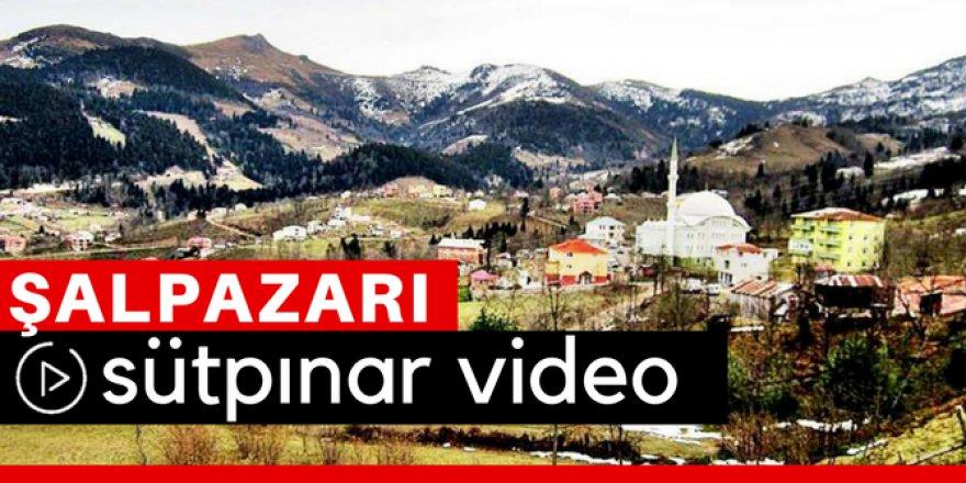 Şalpazarı Sütpınar Köyü Video