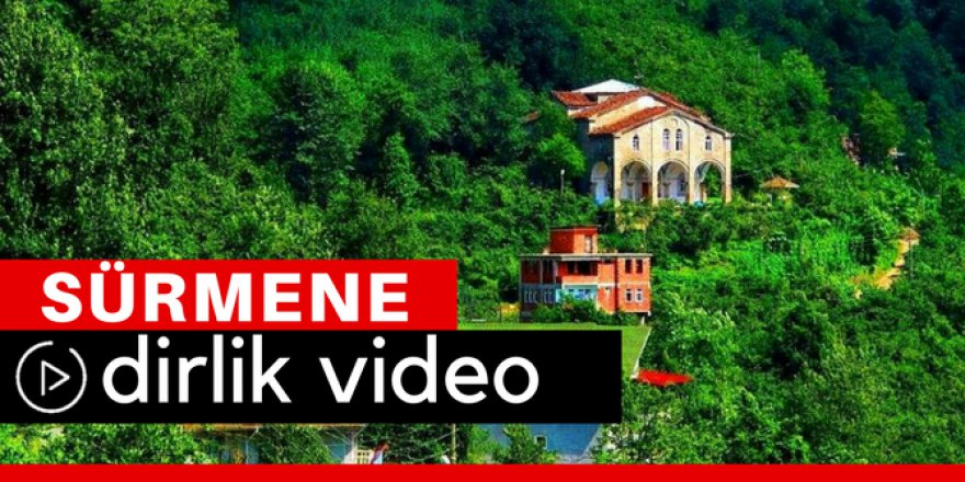 Sürmene Dirlik Köyü Video
