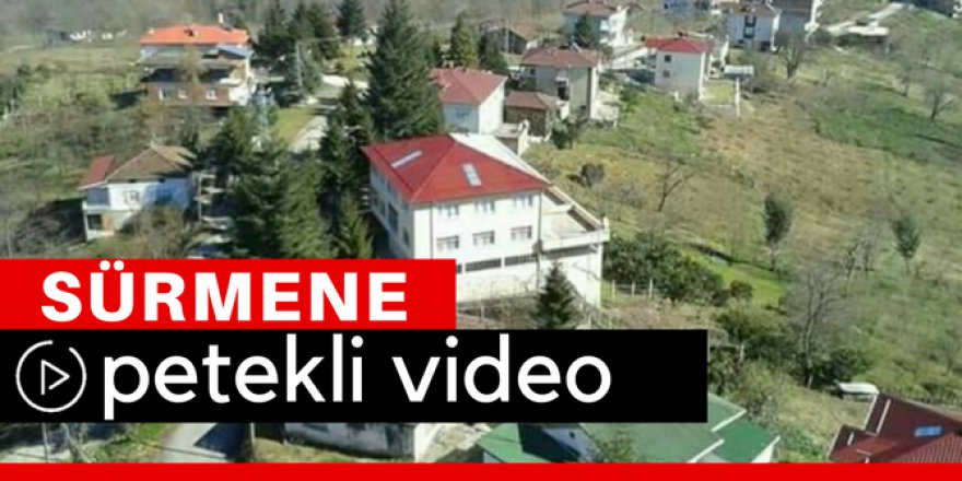 Sürmene Petekli Köyü Video
