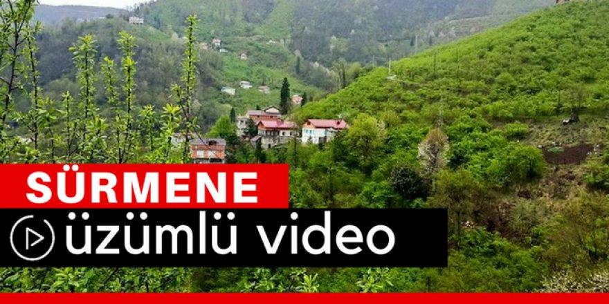 Sürmene Üzümlü Köyü Video