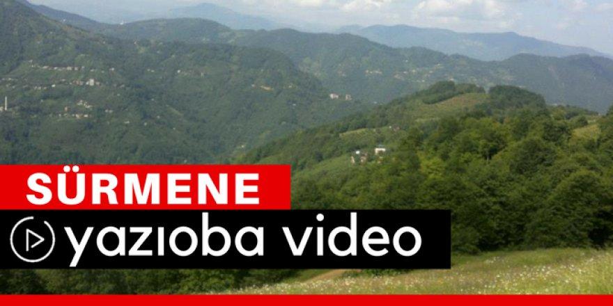 Sürmene Yazıoba Köyü Video