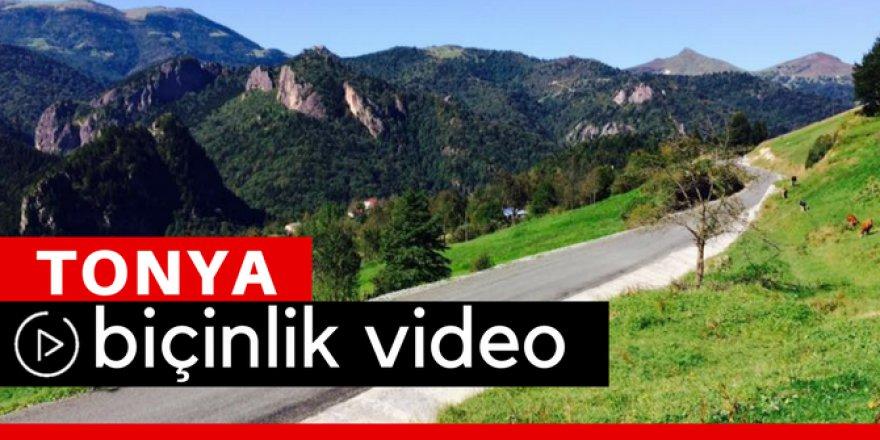 Tonya Biçinlik Köyü Video