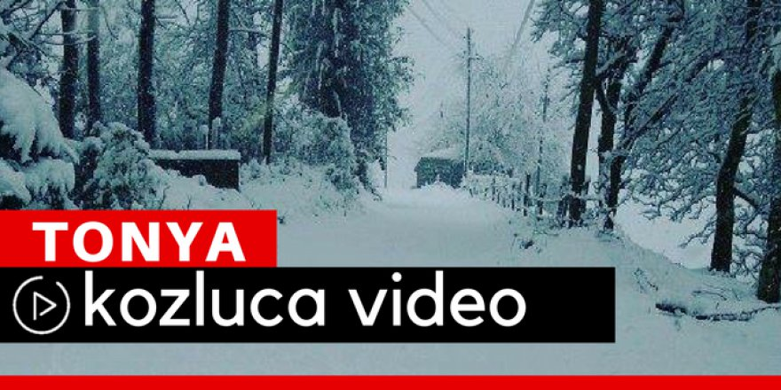 Tonya Kozluca Köyü Video