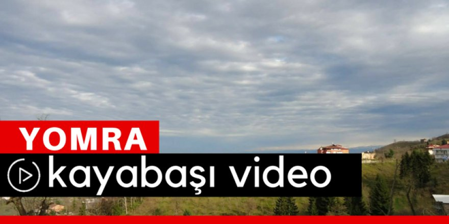 Yomra Kayabaşı Köyü Video
