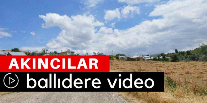 Akıncılar Ballıdere Köyü Video
