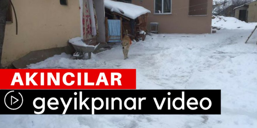 Akıncılar Geyikpınar Köyü Video