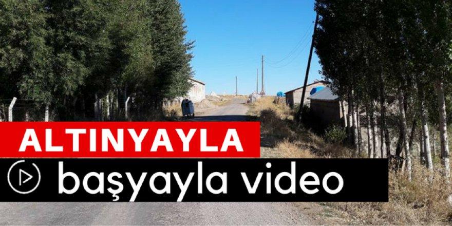 Altınyayla Başyayla Köyü Video