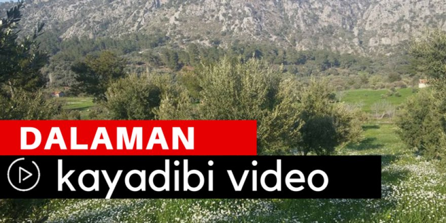 Dalaman Kayadibi Köyü Video