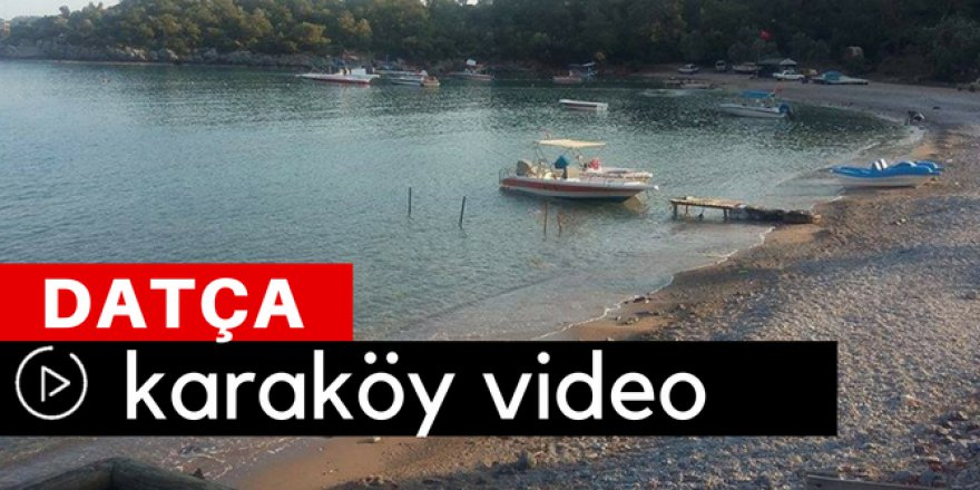 Datça Karaköy Video