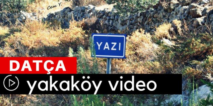Datça Yazıköy Video