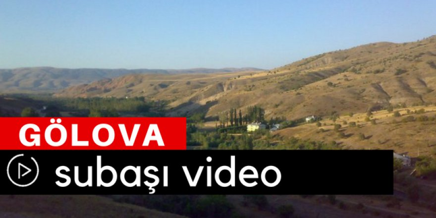 Gölova Subaşı Köyü Video