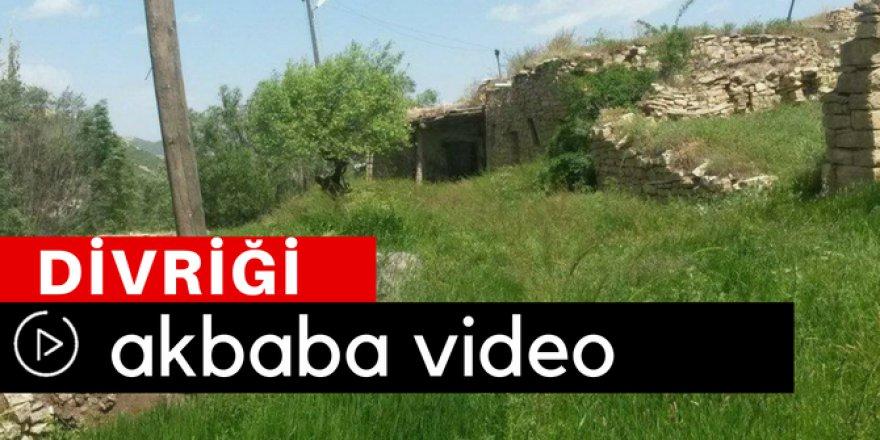 Divriği Akbaba Köyü Video