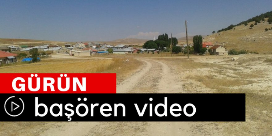 Gürün Başören Köyü Video