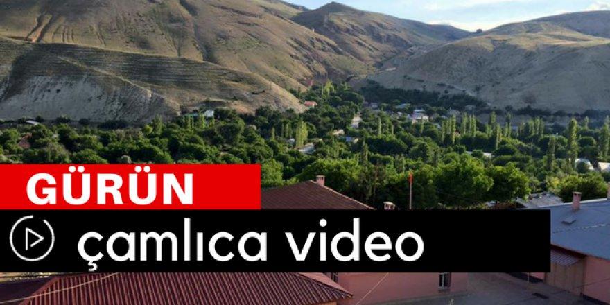 Gürün Çamlıca Köyü Video