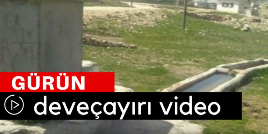 Gürün Deveçayırı Köyü Video