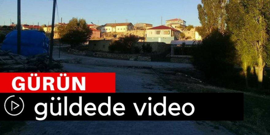 Gürün Güldede Köyü Video