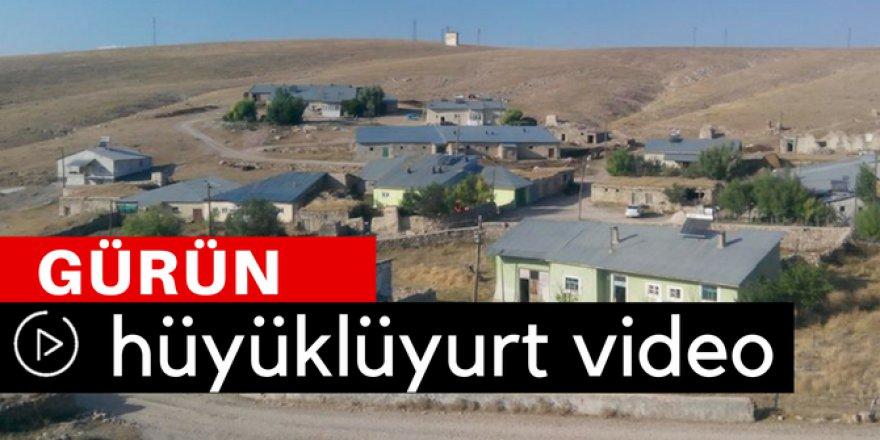 Gürün Hüyüklüyurt Köyü Video