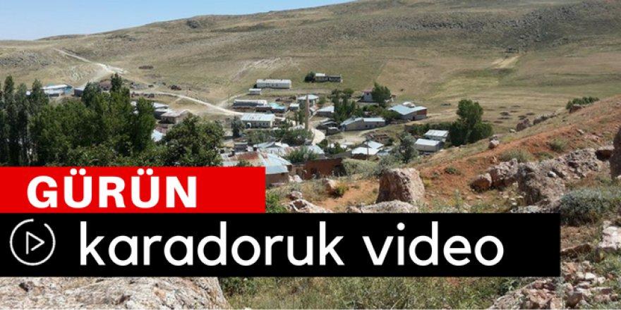 Gürün Karadoruk Köyü Video