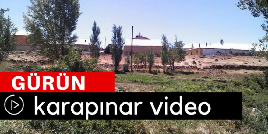 Gürün Karapınar Köyü Video