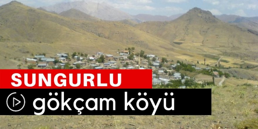 Sungurlu Gökçam Köyü Video