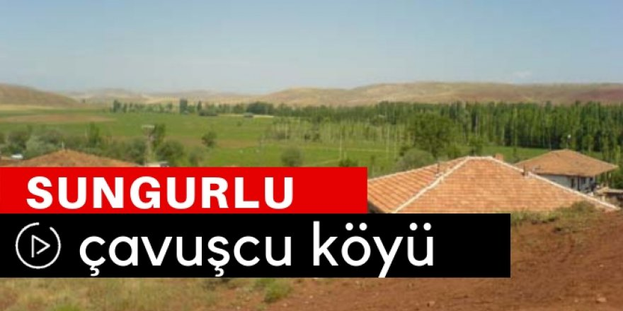 Sungurlu Çavuşcu Köyü Video