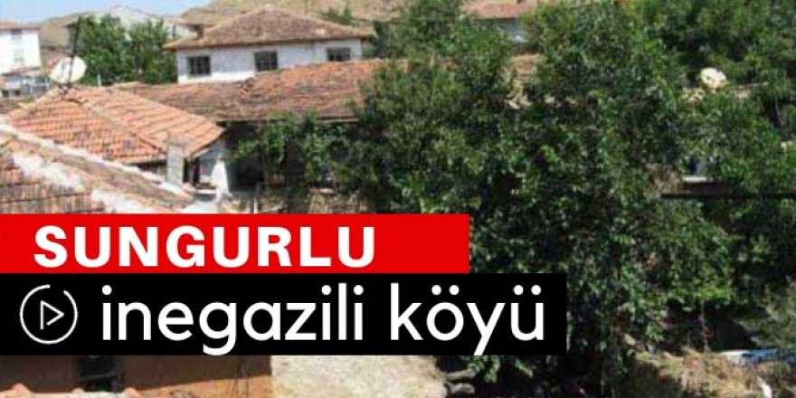 Sungurlu İnegazili Köyü